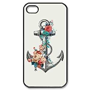 Custom Your Own Personalised Hard Anchor iPhone 4/4S Cover , Snap On Anchor iPhone 4/4S Case