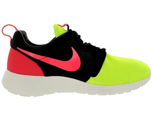 Nike Herren Laufschuhe Rosherun HYP PRM QS Turnschuhe 669689 700 Sneaker Volt schwarz Hyper Punch