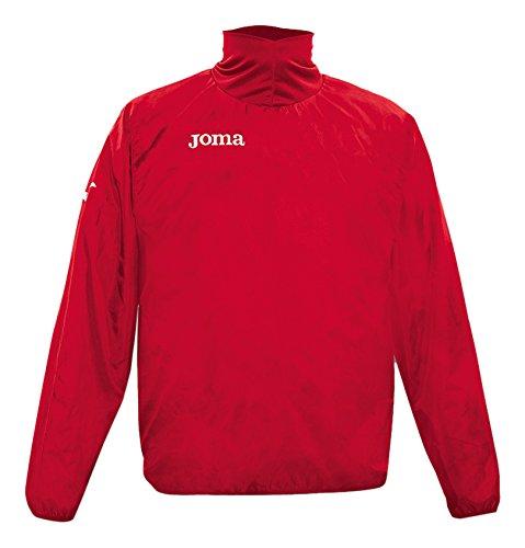 Mag Joma風ポリエステルウィンドブレーカーUniforms IMPERMEABILE Uomo B00QHPA9YO レッド 3L
