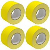 Seismic Audio - SeismicTape-Yellow603-4Pack - 4 Pack of 3 Inch Yellow Gaffer's Tape - 60 yards per Roll