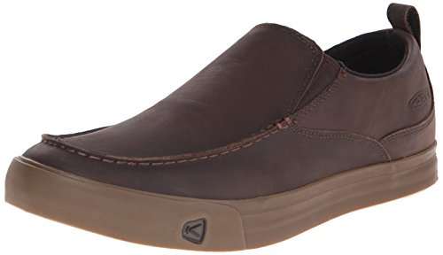KEEN Men's Timmons Slip-on Casual Shoe, Cascade Brown/Gum, 9 M US