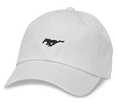 American Needle Micro Slouch Ford Mustang Adjustable Hat (White)