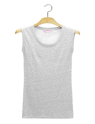 Regna X Womens Sleeveless v Neck Activewear Running Racerback Tank Tops White S by Regna X (Image #5)