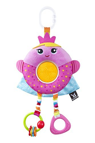 Benbat Dazzle Friends Plush Stroller Toy Pink [並行輸入品]   B078WX2GRG
