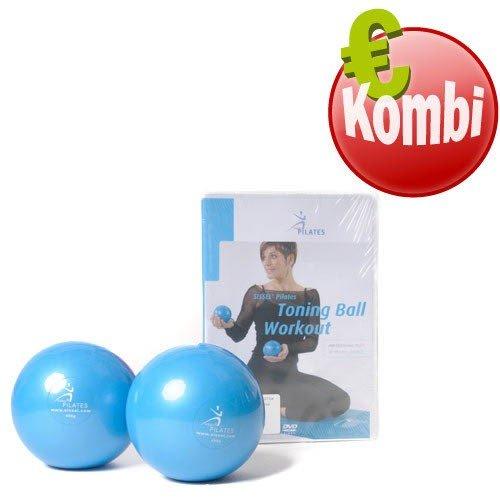 Sissel Pilates Toning Ball Paar