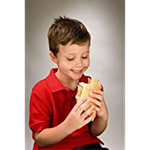 LAMINATED POSTER Grinder Hoagie Eating Sandwich Blimpie Child Poster Print 24 x 36