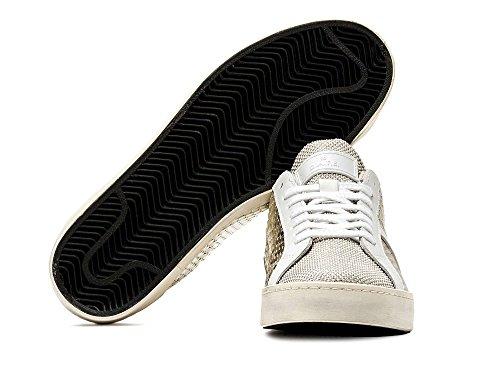 D.a.t.e. Date Hill Low Pong Laminated Sneakers Damen Platinum