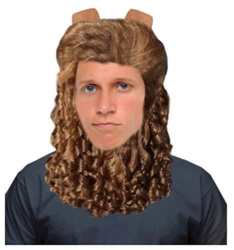 Beast Wig Costume Beast Costume Wig for Men