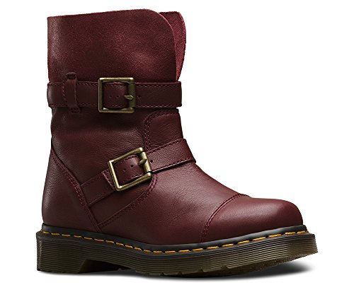 Red Motorcycle Boots - 7