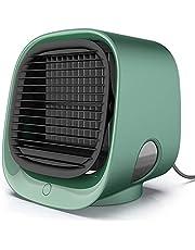 FABSELLER Mini Air Cooler Draagbare Airconditioner Draagbare Koeler Ventilator USB Persoonlijke Ruimte Luchtkoeler voor Home Office Bureau