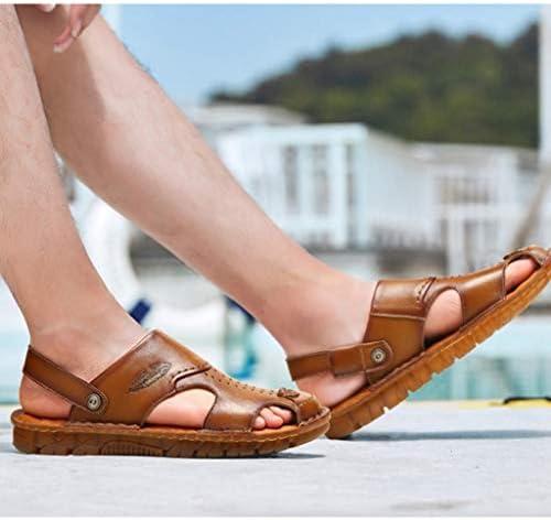 メンズ サンダル ビーチシューズ 滑り止め 通気性 レザー カジュアルシューズ コンフォート 軽い 履きやすい 歩きやすい おしゃれ 蒸れない 涼しい 旅行 疲れない アウトドア 夏靴 オフィスサンダル 日常着用 屈曲性