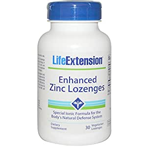 ENHANCED ZINC ACETATE LOZENGES - 30 LOZENGES