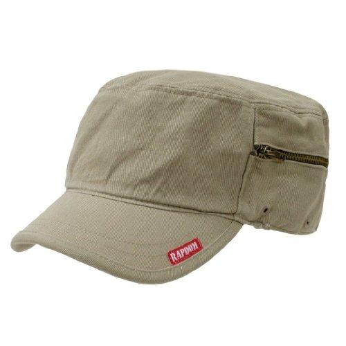 Patrol Cap Khaki (Decky Adjustable Patrol Cap(Khaki Tan))