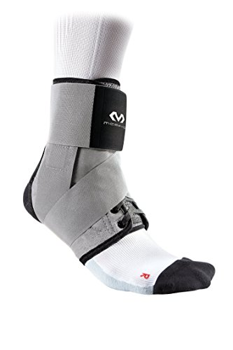 McDavid Level 3 Ankle Brace with Straps, Gray, X-Large by McDavid (Image #1)