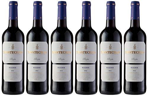 Vino tinto D.O. Rioja Montecillo Reserva – Caja de 6 unidades de vino Montecillo de 75cl