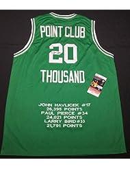 4ea061ab8 Paul Pierce Autographed Signed Boston Celtics Basketball Jersey 08 Nba  Champs Memorabilia PSA DNA 7A47661