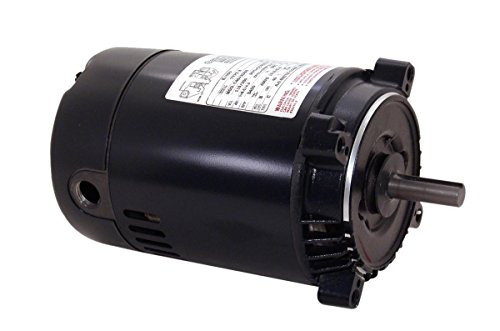 Century K1100 NEMA-C Face Single Phase Jet Pump - Motor Keyed Pool Shaft Pump