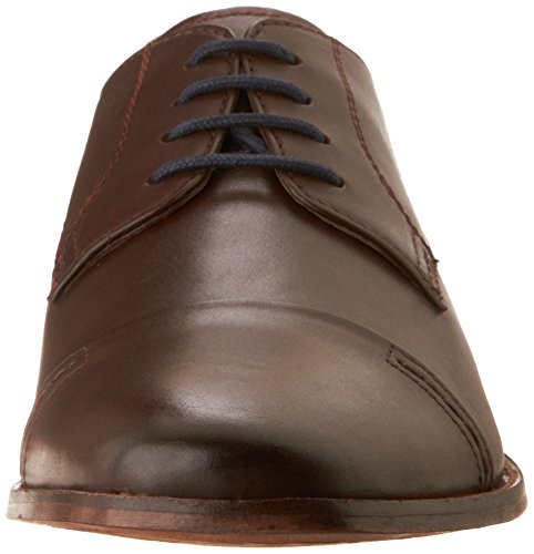Bostonian Hombres Narrate Cap Informal Zapatos Cuero Castaño