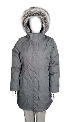 The North Face Women's Arctic Parka Jacket Graphite Grey Heather Size Small (Womens Graphite Grey Heather)