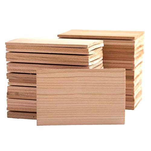 50 4x6 Cedar Grilling Planks - Bulk Quantity for Restaurants and Chefs