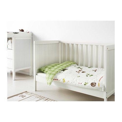 Ikea Sundvik Kinderbett Weiss 60x120 Cm Amazon De Kuche Haushalt