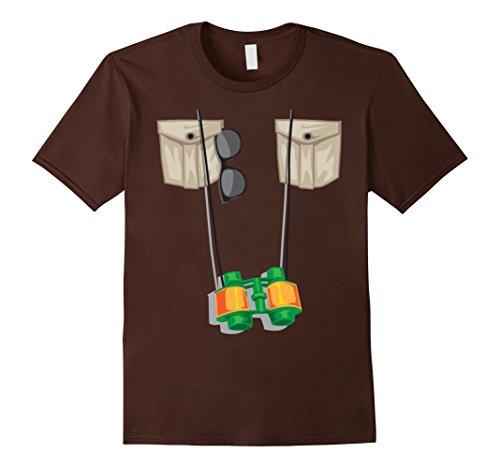 Mens Zoo Keeper Halloween Costume - Jungle Safari Explorer Gift Medium Brown