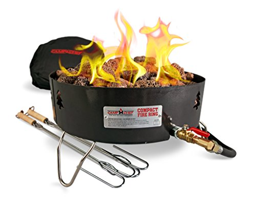 Camp Chef Propane Outdoor Portable Campfire (Fire Propane Ring)