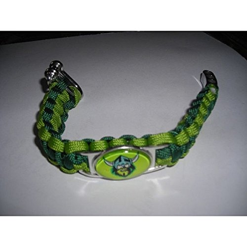 Swamp Fox Canberra Raiders Rugby Football Paracord Adjustable Bracelet