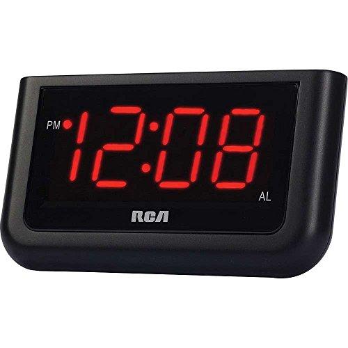 RCA Compact Alarm Clock Backlit