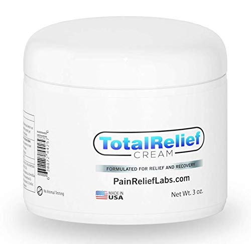 Best Pain Relief Cream 6oz Large - Arnica Topical Analgesic for Lower and High Back | Knee | Hip | Neck | Foot | Sciatica | Joint | Nerve | Muscle Aches | Arthritis | Fibromyalgia | Anti Inflammatory