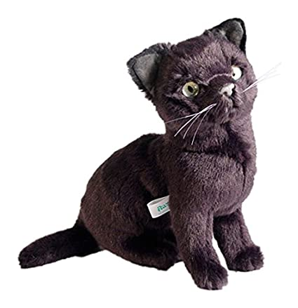 Amazon.com: Piutrè 2352 30 cm Sitting Russian Blue Kitten ...