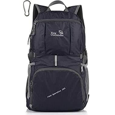 Outlander Large Packable Handy Lightweight Travel Backpack Daypack,Dark Blue