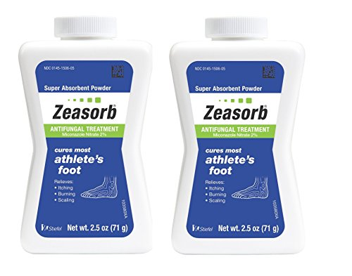 Zeasorb Antifungal Treatment Powder Athletes