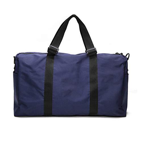 - Travel Bags Hand Luggage for Men & Women Travel Bags Tote Large Handbags luggage organizer weekender bag,Blue