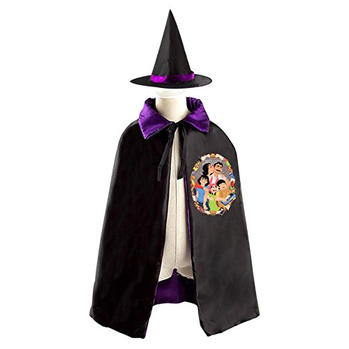 Costume Bob Silent (Bob's Burgers Halloween costume dress with hat reversible witch)