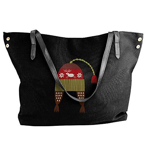 (YongQingHui Christmas Series B99 Women's Purse Tote Bag Weekend Shopping Bag)
