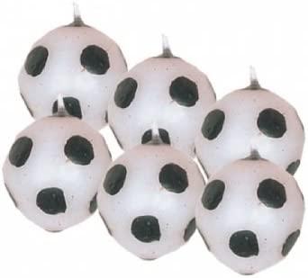 Amscan Velas en forma de balones de fútbol: Amazon.es: Hogar