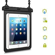 """HopMore Bolsa Impermeable Tablets iPad Samsung Huawei Sony,Funda Waterproof para Huawei New iPad Pro 9.7,iPad Air/Air 2,Huawei MediaPad T3 / M3 Lite 10"""",Galaxy Tab A/Tab E/Tab S2/S3 9.7 (8.1"""" - 10"""")"""
