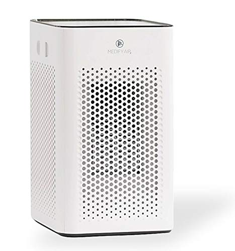 Medify MA-25 Air Purifier with H13 HEPA filter – a higher grade of HEPA for 500 Sq. Ft. Air Purifier | Dual Air Intake…
