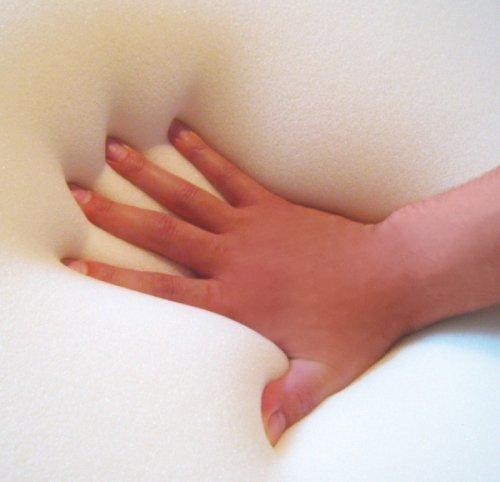 Orthopädisches Gel Gelschaum Kopfkissen Bauchschläferkissen Nackenstützkissen 80 x 40 x 9 cm Schlafkissen für Bauchschläfer softes / weiches Kissen