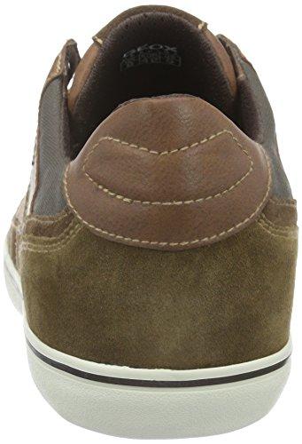Geox Mens Boîte 26 Mode Sneaker Cognac