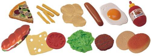 Miniland Fast Food Assortment - 19 Pieces/ - Condiments Food Fast