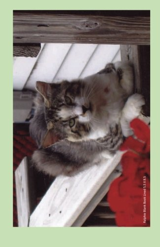 Download Ralphie Blank Book Lined 5.5 X 8.5: 5.5 by 8.5 inch 100 page lined blank book suitable as a journal, notebook, or diary with a cover photo of Ralphie ... feline leukemia. (Cats of Ralphie's Retreat) pdf epub