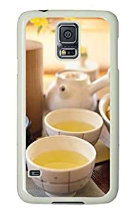 Samsung Galaxy S5 Leisure and health tea PC Custom Samsung Galaxy S5 Case Cover White