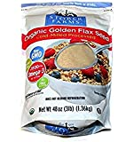 Flax USA/Stober Farms Organic Golden Flax Cold Milled Golden Flax Seed, 48 Ounce