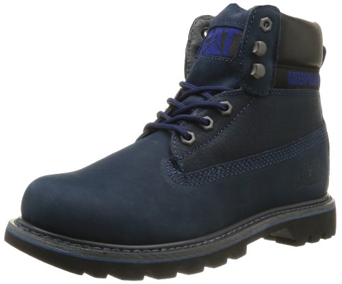 """Caterpillar Colorado 6"""" Midnight Blue Mens Ankle Boots, Size 11"""