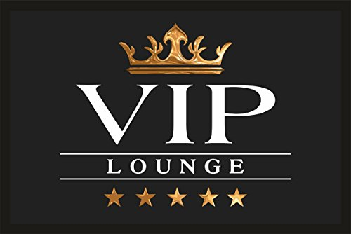 Fußmatte Türmatte Schmutzfangmatte mit Motiv: VIP Lounge 216