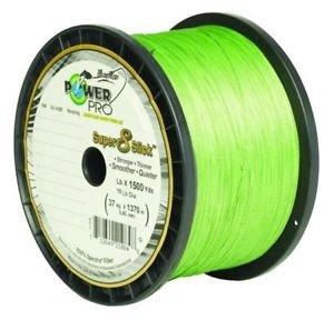 Power Pro Super 8 Slick Braided Fishing Line, 10-Pound/1500-Yard, Aqua Green by PowerPro