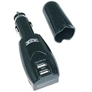 PC Treasures 7379 USB POWERNOW Dual Charger (Gray)