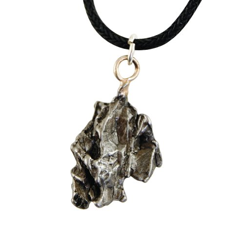 Meteorite jewelry amazon genuine meteorite necklace piece of galactic history over 4000 years old aloadofball Image collections